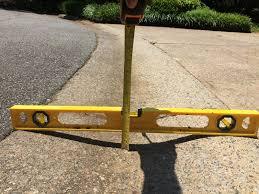 curb ramp diy installation for steep driveways with