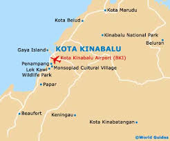 Image result for singapore to mt. kinabalu map