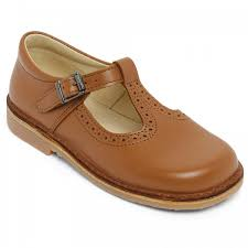 brown leather shoes for girls and boys