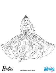 Coloring Pages Coloring Pages Splendi Barbie Princess Picture