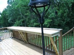 deck rail tables image result for deck railing table deck railing table diy