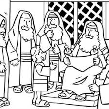 Small Picture Coloring Pages Printable Bible Stories Archives Mente Beta Most