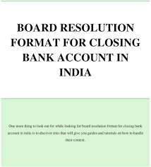 Online Writing Lab & application letter of closing bank account