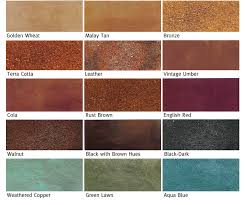 Concrete Floor Color Chart Pin On Ideas For The House