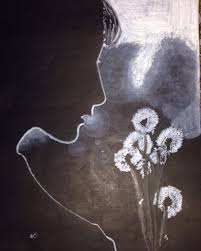 White Pencil Drawing On Black Paper My Sketchbook Pinterest