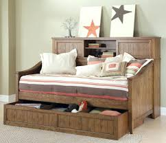 Double Daybed With Pop Up Trundle Canada Bed Storage.