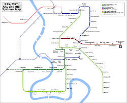 map of bangkok s mrt and bts stations