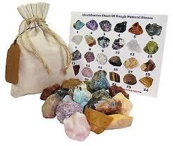 Mixed Rough Natural Stones 1 Lb 5 Kg Bulk Reiki Chakra Healing Crystals Miner Ebay