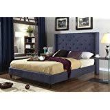 queen size headboards under 100. Beautiful Under Home Life Premiere Classics Cloth Charcoal Blue Linen 51 For Queen Size Headboards Under 100 A