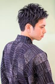 銀座東銀座男性の浴衣着付けメンズヘアスタイル髪型ヘアセット