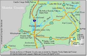 Image result for shasta county map images