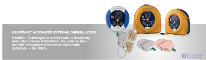 HeartSine samaritan PAD 500P Defibrillator - Wild Aid First Aid - Wild Aid  First Aid