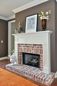painting ideas for living rooms best red brick fireplaces ideas on red brick walls red brick