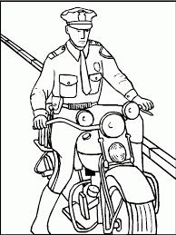Police officer coloring page 16149 within pages sharry me