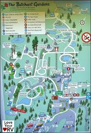 butchart gardens map. Fine Butchart Chains Loop At RV Accessories Shop And Butchart Gardens Map R