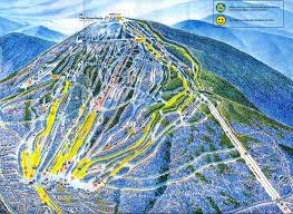 sugarloaf trail map  sugarloaf mountain maine usa • mappery