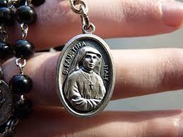 saint faustina catholic medal