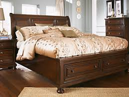 ashley traditional bedroom furniture. rustic brown bedroom furniture shown on a white background ashley traditional