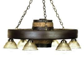 wagon wheel chandelier mason jar diy