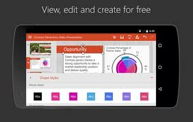 open a powerpoint presentation on android