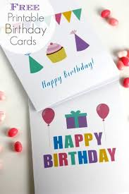 Free Printable Blank Birthday Cards From Catchmyparty Com