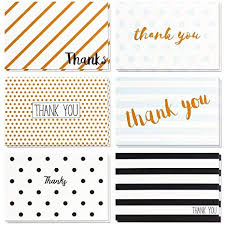 Blank Thank You Notes Thank You Cards 48 Count Thank You Notes Bulk Thank You Cards Set Blank On The Inside Retro Designs Includes Thank You Cards And Envelopes 4