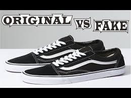 Fake Vans Vans Old Skool Original Fake