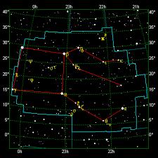 Pegasus Star Chart The Stellar Guide Pegasus