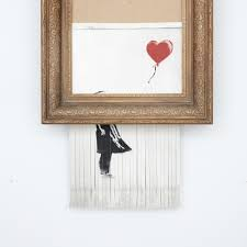 Latest Banksy Artwork 'Love is in the Bin' Created Live at Auction    Contemporary Art