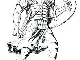 Roman Soldier Coloring Page Roman Soldier Coloring Page Free Pages