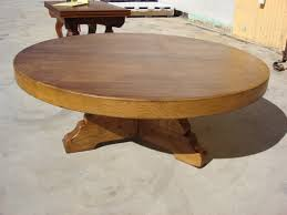 top vintage round coffee table vintage round wood coffee table andifurniture