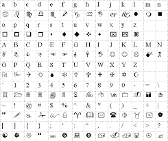 Sample Wingdings Chart Interesting Wingdings Translation For Gaster Undertale Pinterest Fonts
