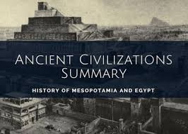 Mesopotamian Civilization Ancient Civilizations Summary Mesopotamia And Egypt Information