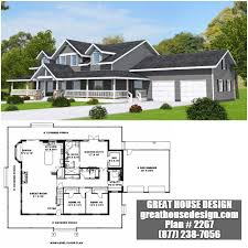 Custom Country Home Designs Really Like This Country Home With Wrap Around Porch Plan