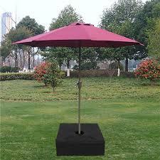 outdoor patio umbrella base weight bag