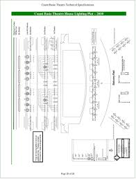 Count Basie Seating Chart Technical Specifications Pdf Free Download