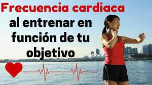 Resultado de imagen de zona de frecuencia cardiaca objetivo
