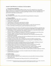 Free Ministry Resume Templates Of Ministers Resume Template