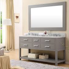 60 bathroom vanity with top. Bathroom: 55 Inch Double Sink Vanity Top | 60 For Two Bathroom With O