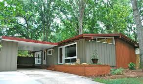 Mid Century Modern Exterior Paint Color Schemes MODERN HOUSE PLAN