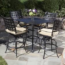 outdoor furniture bar height set. relax in style on your patio with the chateau bar height collection outdoor furniture set r
