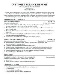Resume Template For Customer Service Impressive Sample Customer Service Cover Letter Sample Cashier Cover Letter
