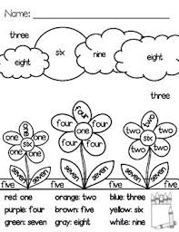 So many different colors select only one option that you like more write the number below. Spring Coloring Pages 1 Color By Number Word 2 Coloring Pages Tpt