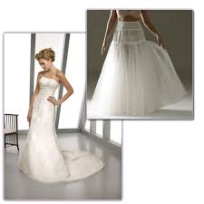 how to choose the right petticoat for your wedding dress jjshouse Wedding Dress With Hoop if your dress is a classic satin a line style like below, then a fully netted petticoat with one or two boned hoops is recommended wedding dresses with hoods