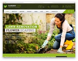 landscaping templates free 23 aesthetically beautiful landscaping website templates 2019