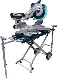 makita miter saw stand. makita ls1216lx4 12-inch dual slide compound miter saw with laser and stand - mitre amazon.com h