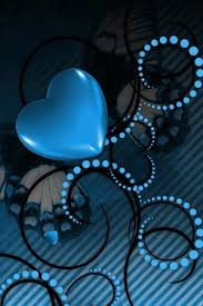 android wallpaper for mobile. Brilliant For Amazing Blue Heart With Android Wallpaper For Mobile P