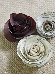 Rose Flower With Paper How To Make Rolled Paper Roses Hgtv