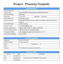 Project Word Template – Agoodmorning.co