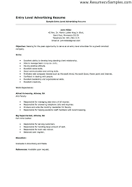Entry Level Job Resume Examples Entry Level Job Resume Examples Entry Level Job Resume Examples